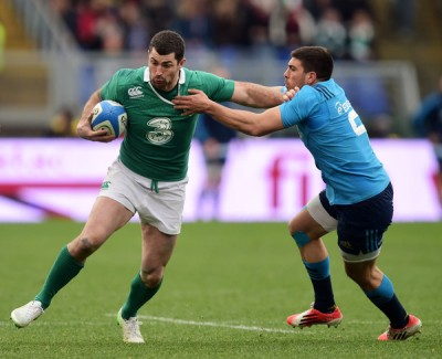 It is a shame we won't get to see Rob Kearney going up against Mike Brown in the air, competing to claim the ball, as the way they both soar is a sight to behold. Ireland's kicking gameplan suits him down to the ground, as he usually rules the air. His positional awareness is second-to-none, and he has the ability to land the odd long drop goal too, with his booming left boot.