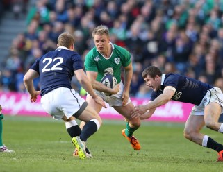 It was fantastic to see the injury-blighted Luke Fitzgerald back wearing the green of Ireland again. He looked lively throughout, and especially dangerous every time he touched the ball. Let's hope he can have a clean bill of health between now and September.